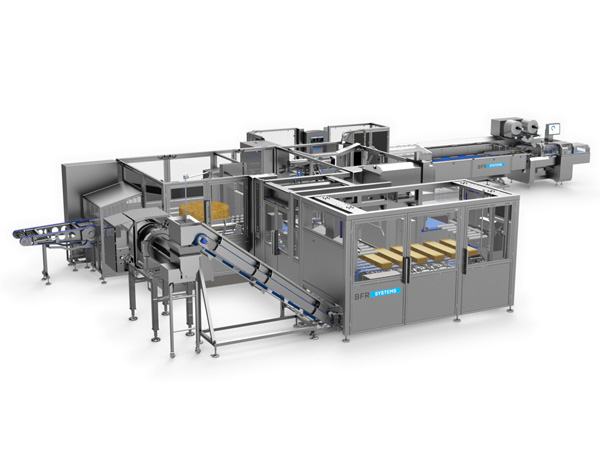 food & dairy/CHEESE SLICING AND PACKING LINE